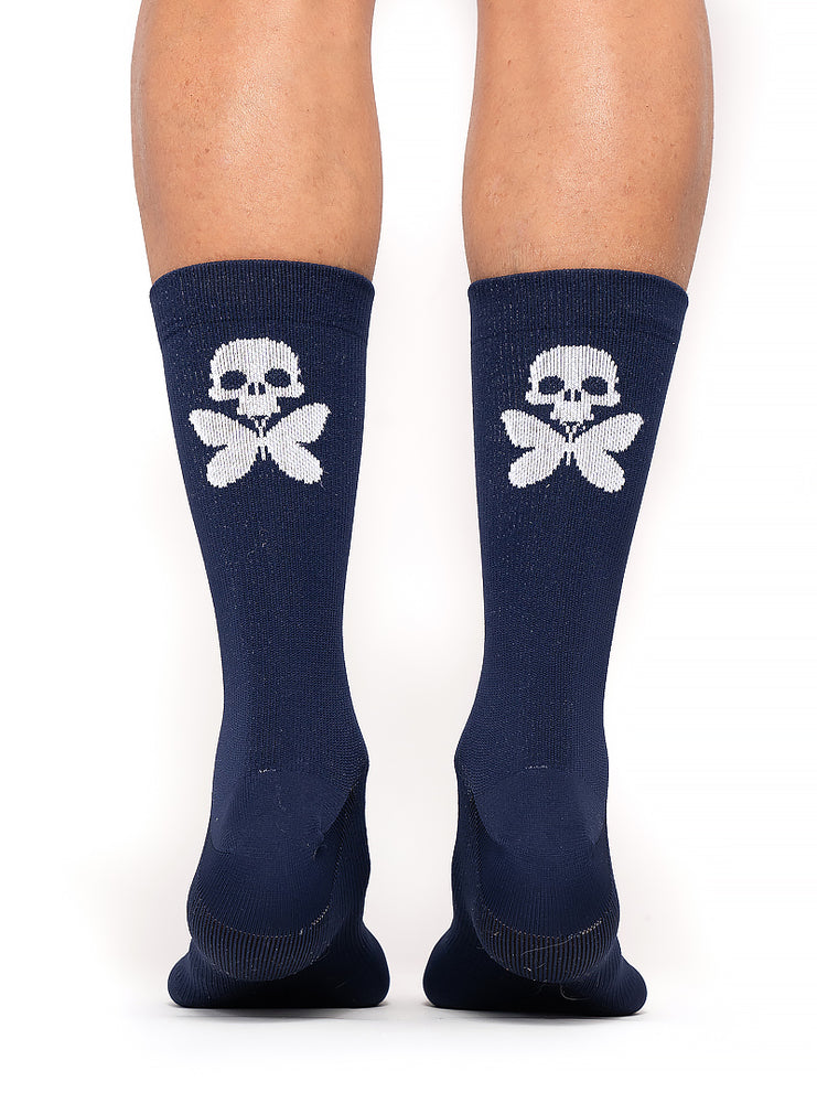 Signature Compression Socks Navy
