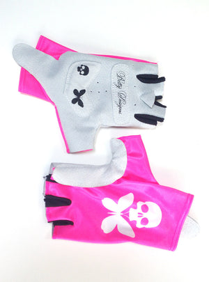 Betty Designs Pink Womens Aero Cycling Glove