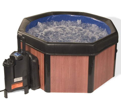 SPA-N-A-BOX Faux Wood Spa