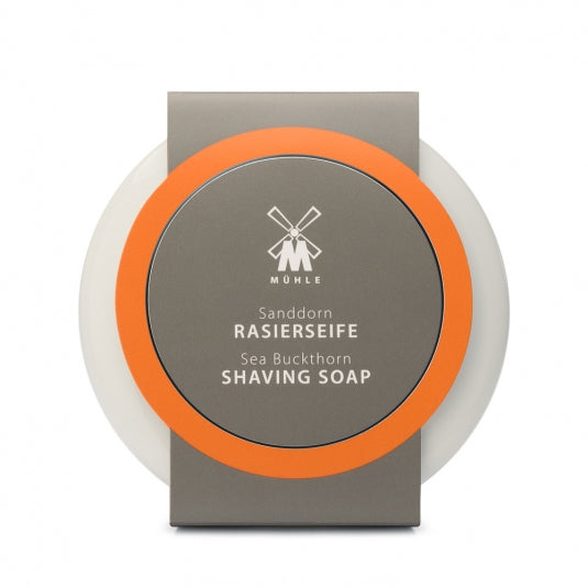 MÜHLE SHAVING CARE - Shaving soap from MÜHLE, in porcelain bowl, with Sea Buckthorn