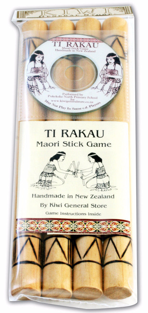 Te Rakau Stick Game with CD