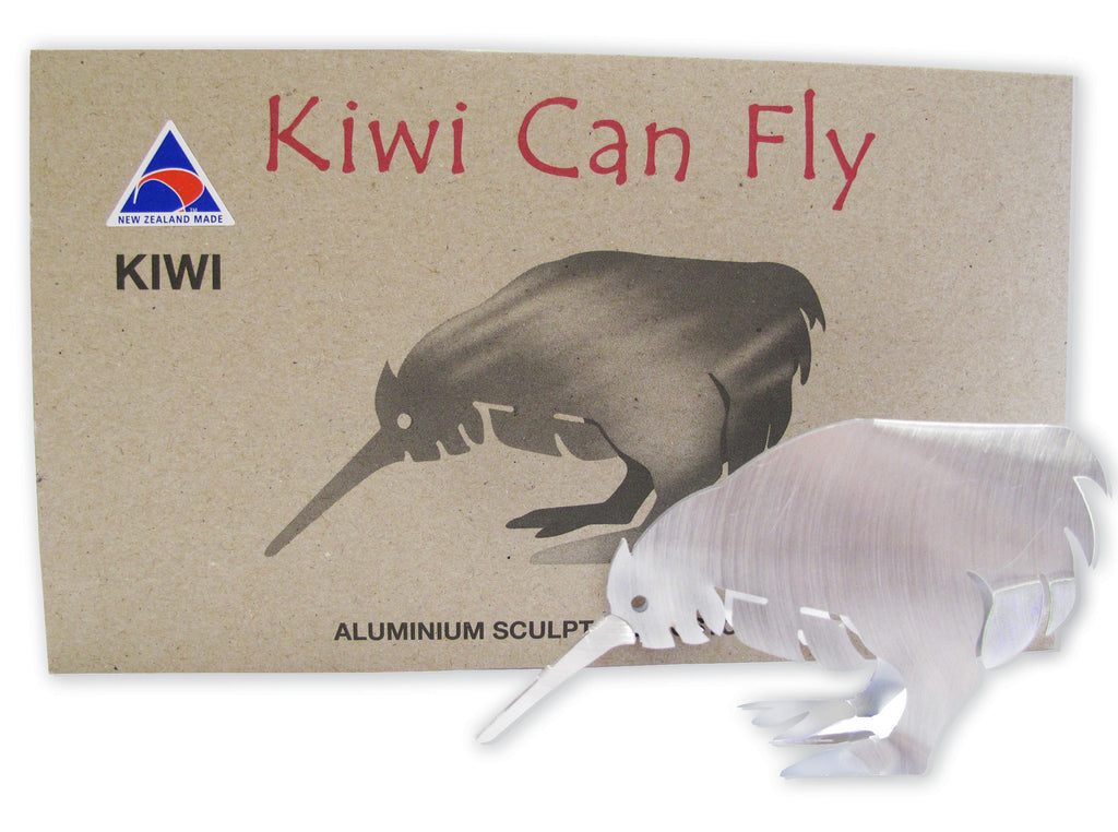 Kiwi Can Fly Postcard - Kiwi