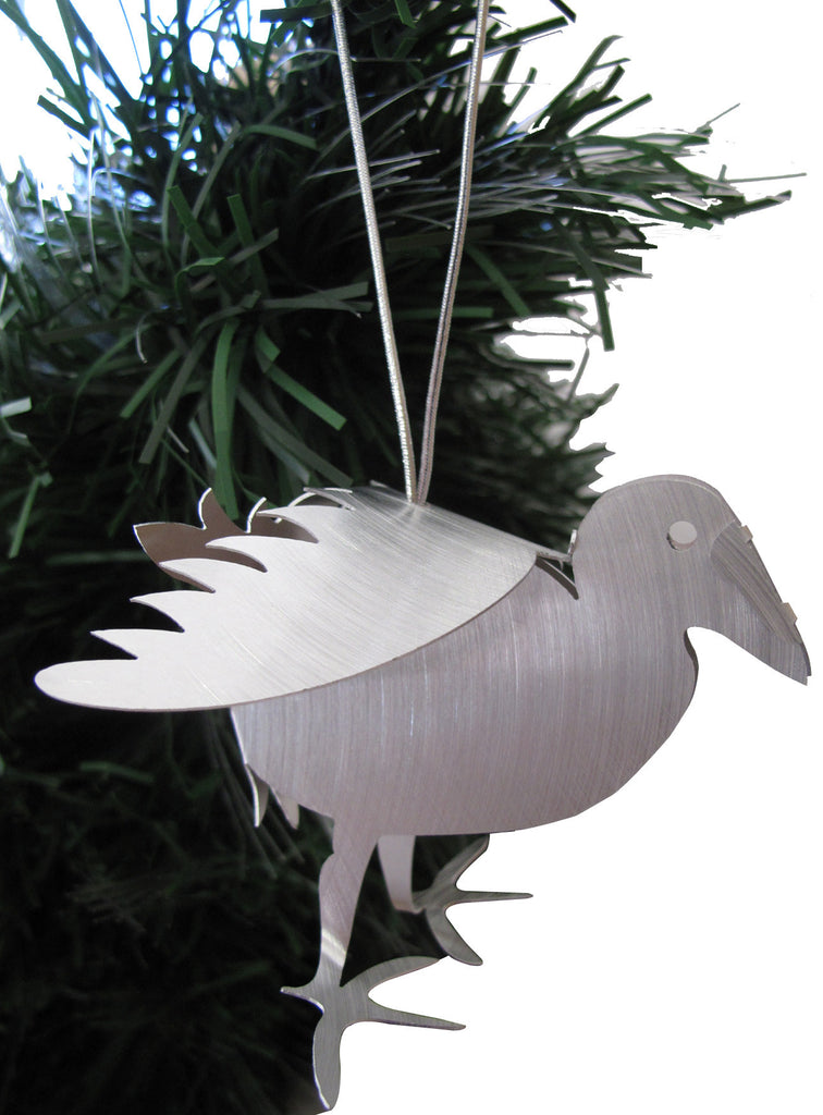 Kiwi Can Fly Hanging Sculpture - Pukeko
