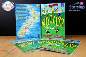 Book - Where's Woolly
