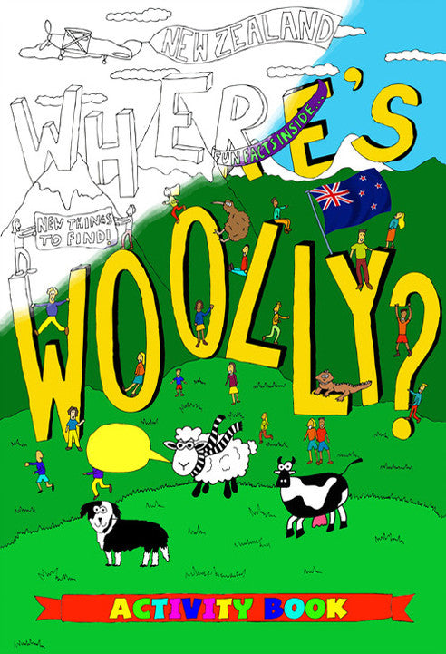 Book - Where's Woolly Activity Book