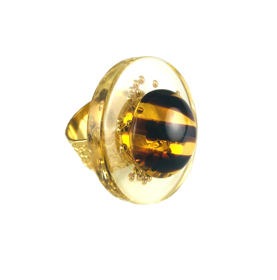 MIzDragonfly Jewelry Vintage Juno Tiger Eye Ring Gallery.