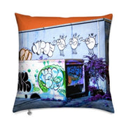 MizDragonfly Decorative Velvet Pillow Cushion Bayside Gallery