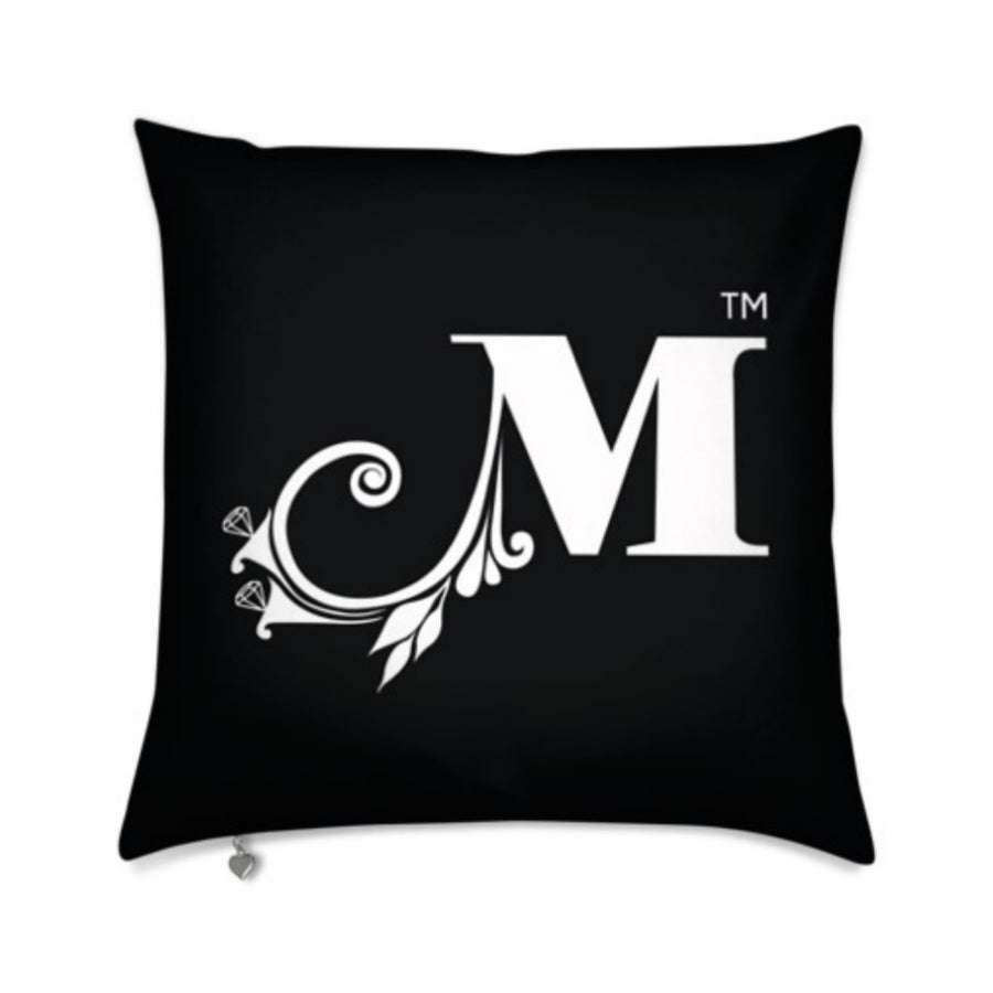 MizDragonfly Decorative Velvet Pillow Cushion Monogram Gallery