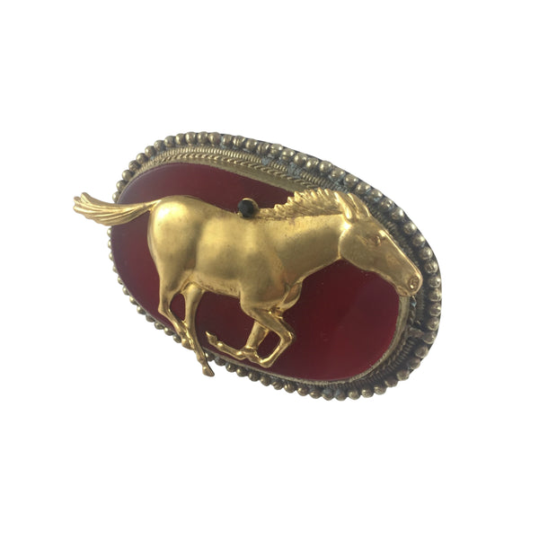 Vintage Horse Knuckle Ring
