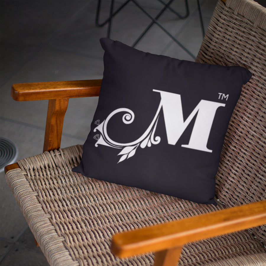 MizDragonfly Home Decor Cushion Pillow Monogram Lifestyle