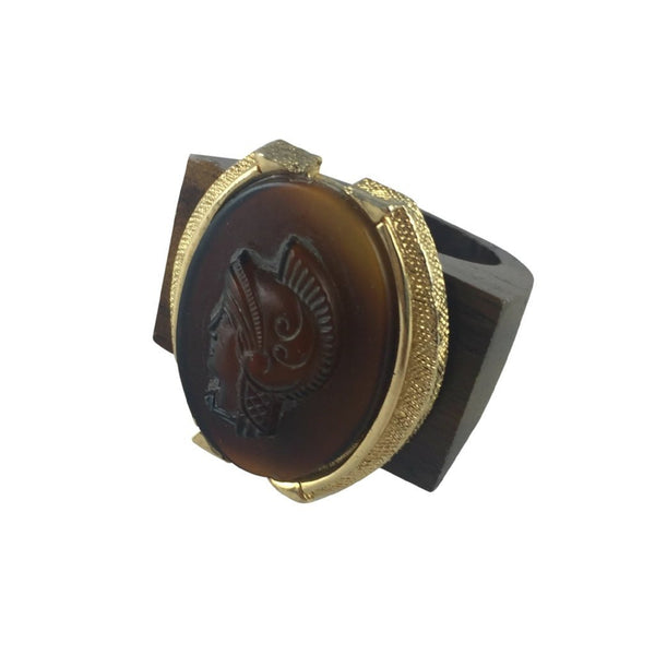 Empire Cameo Vintage Ring