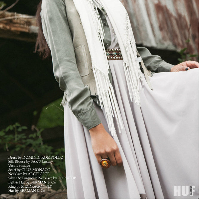 Estelle Vintage Wood Ring - As seen in HUF Magazine