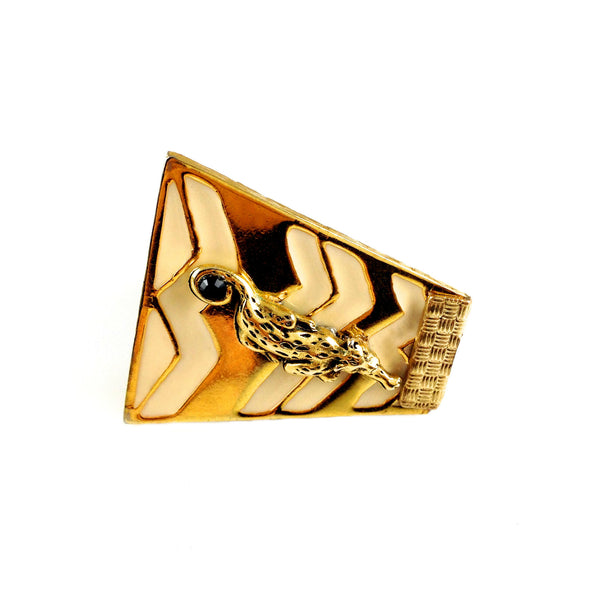 Panther Vintage Gold Ring - As seen in BLOWE Magazine