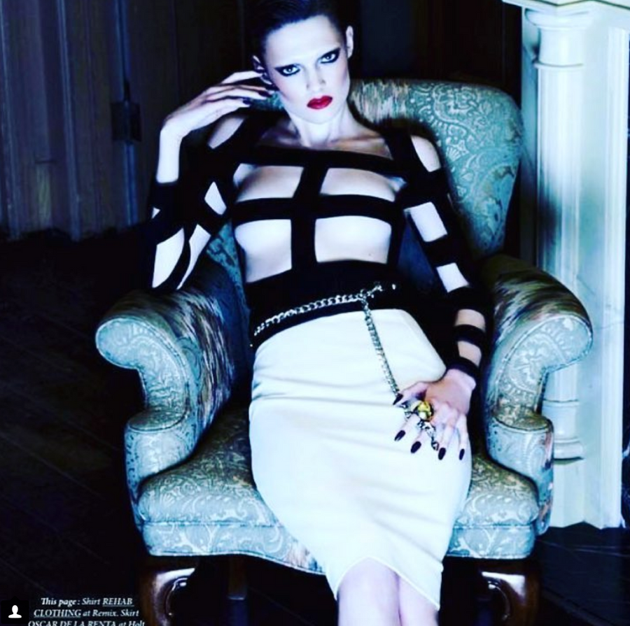 Novela Gold Dome Ring - As seen in Dress To Kill Magazine