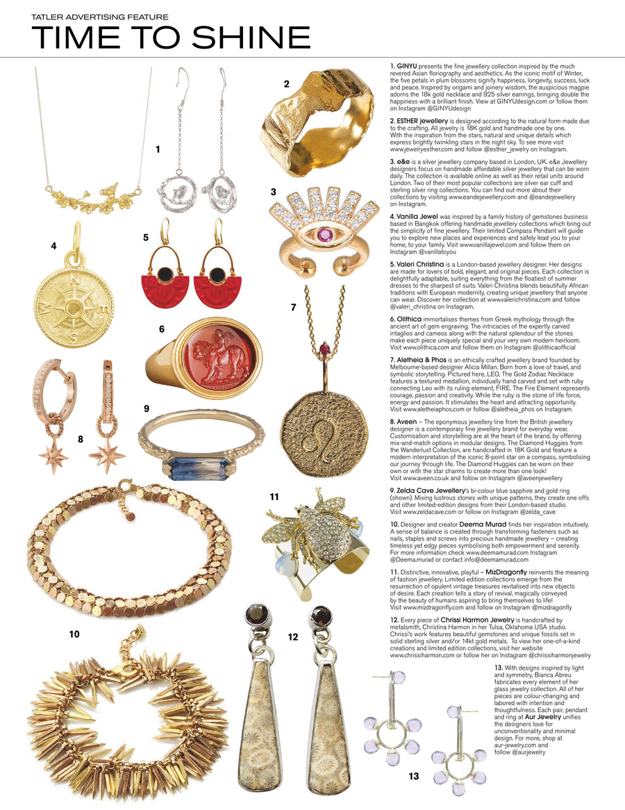 Just Bee Rhinestone Vintage Frosty Dome Cuff Bracelet - As Seen In Tatler Magazine