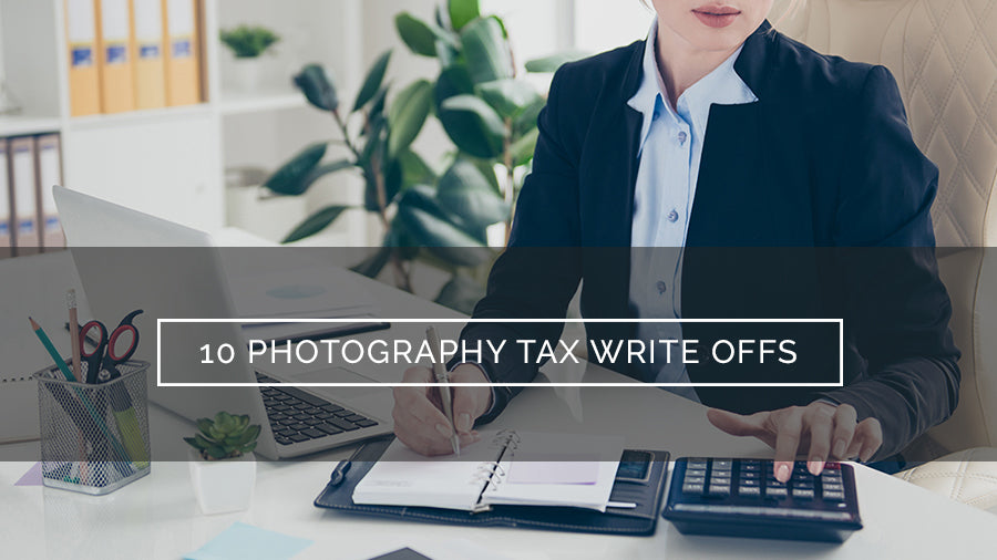 photography tax write offs for photographers