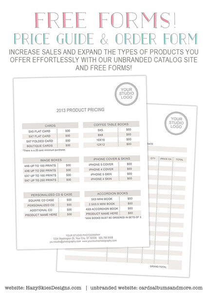 Offer ...  Order Forms Templates Free