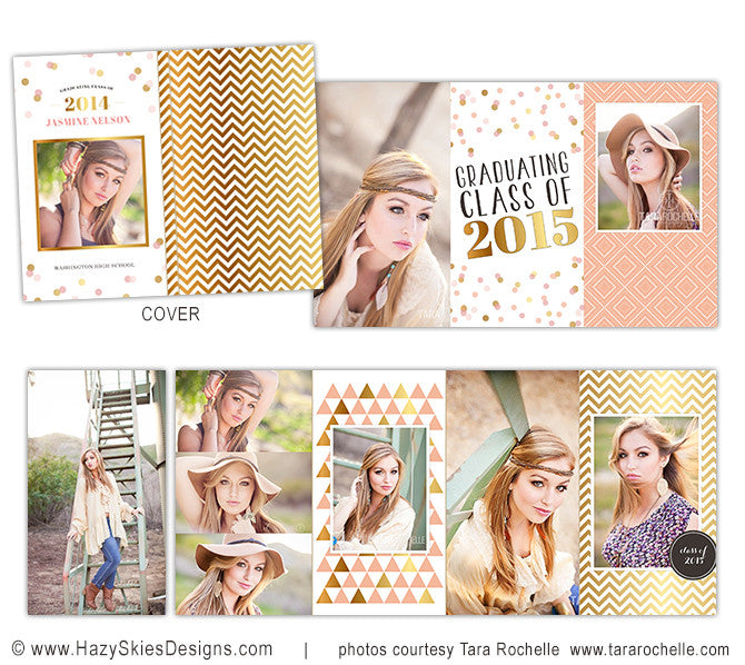 4x8 Accordion Book Template Templates for Photographers Confetti ...