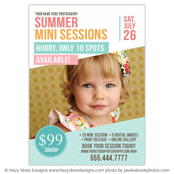Summer Mini Session Template | Summer Style