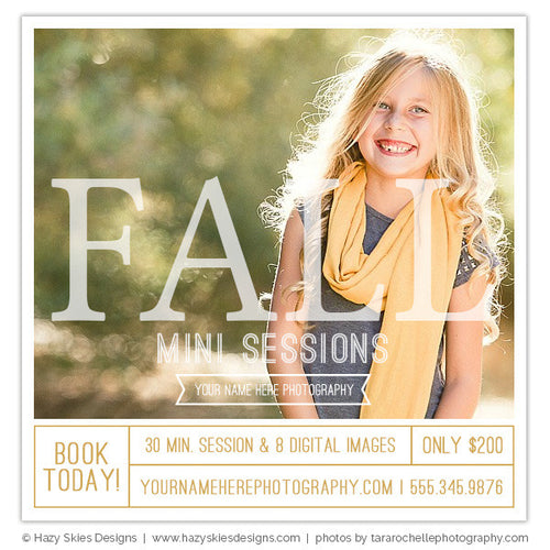 Mini Session Marketing | FALL