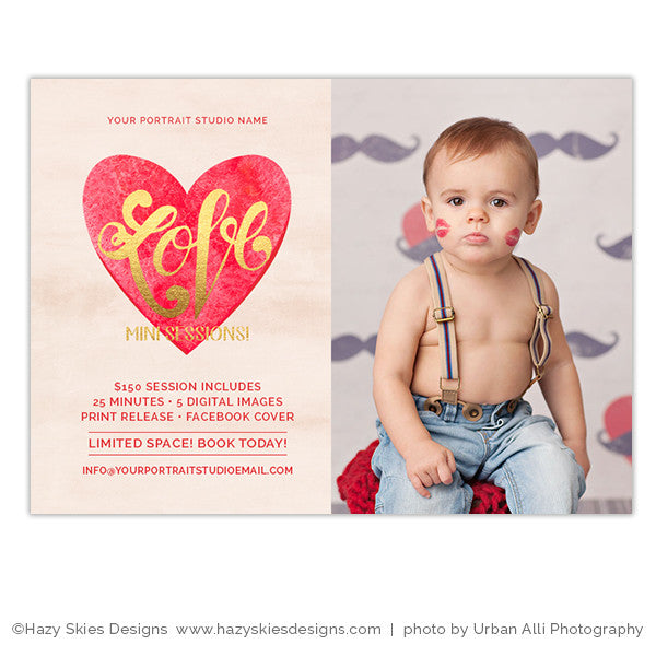Valentine's Marketing Template | Love Mini Sessions