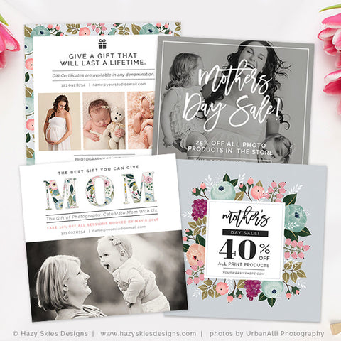 Photography Marketing Templates | Mother's Day Bundle
