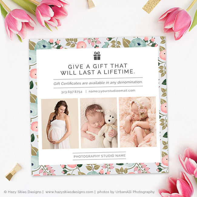 Mothers Day Photography Marketing Template Photoshop – Photoshop ...