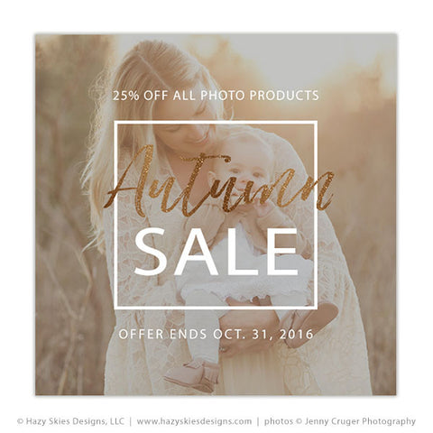 Fall Marketing Template | Autumn Sale