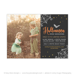 Halloween Mini Session Template | Spooky