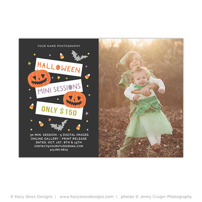 Fall Photoshop Templates for Photographers, Photography Photo Card ...