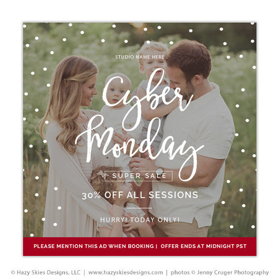 Holiday Marketing Template | Cyber Monday