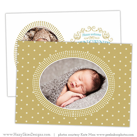Birth Announcement Template | My Darling