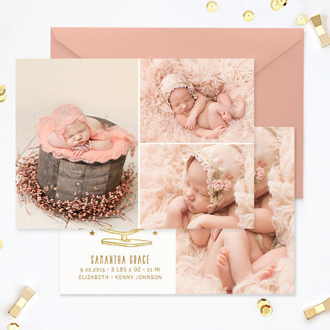 Birth Announcement Template | Globe