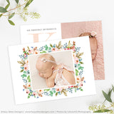 Birth Announcement Template | Laurel
