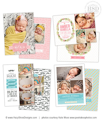 Birth Announcement Templates | Modern Baby
