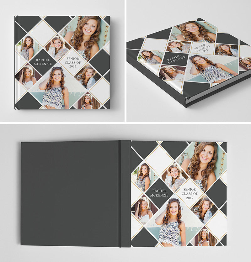 Senior photoshop psd photo book album template for photographers senior book album cover template show off pronofoot35fo Gallery