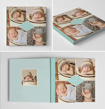 Baby Book Album Cover Template | Brand New