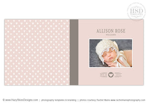Book Album Cover Template for Girls | Sweetness