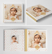 Holiday Book Album Cover Template | Sprinkles