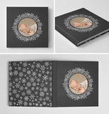 Holiday Book Album Cover Template | Chalkboard