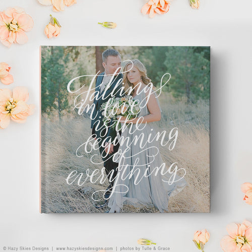 Wedding Book Cover Template | Falling in Love