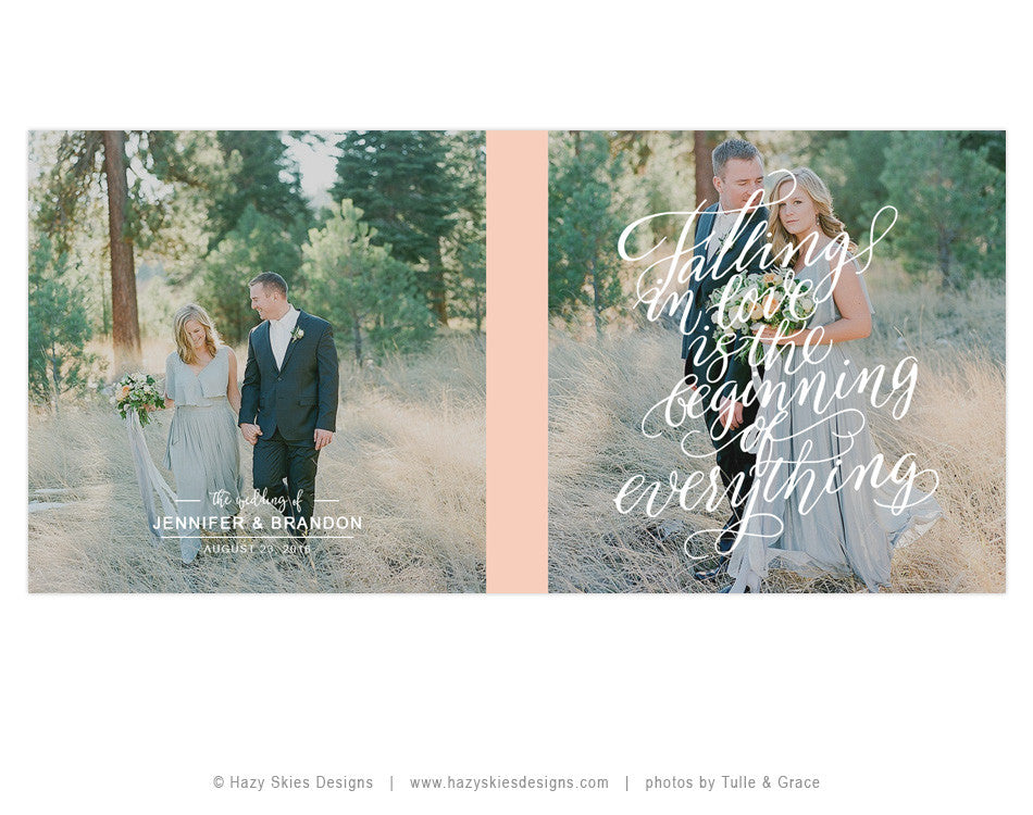 Wedding Book Cover Template : Wedding book cover template falling in love