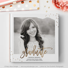 Senior Book Cover Template | Shine