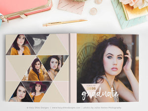 Senior Book Cover Template | Free Spirit