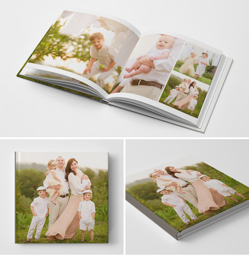 12x12 Book Template | The Interchangeable Book Album