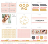 Photography Blog Kit | Glam