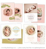 Birth Announcement Templates | Bundled Up