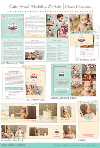 Cake Smash Marketing and Sales | Sweet Memories