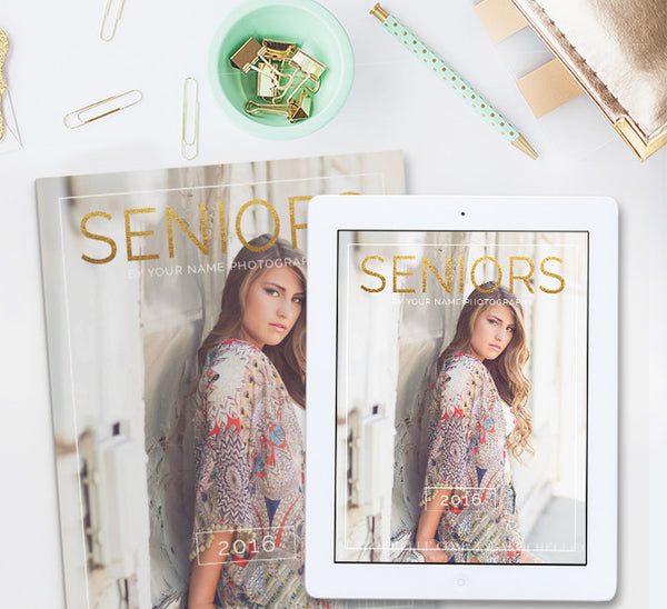 Photography Magazine Template | Senior Year