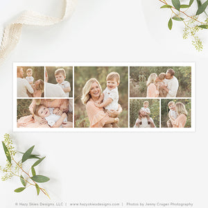 Facebook Cover Templates | 7 Photo Collage